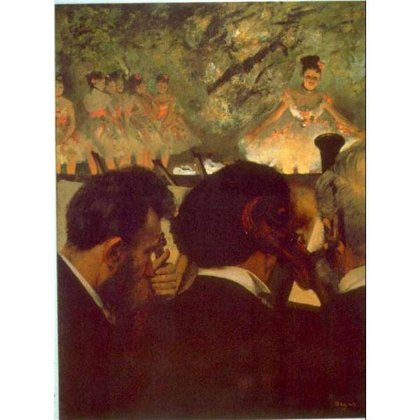 Edgar Degas - Musicians