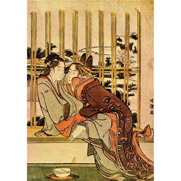 Hokusai - Couples