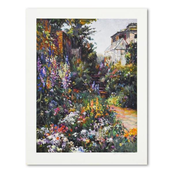 """Henri Plisson, """"The Greenhouse"""" Limited Edition Serigraph, HC Numbered and Hand"""