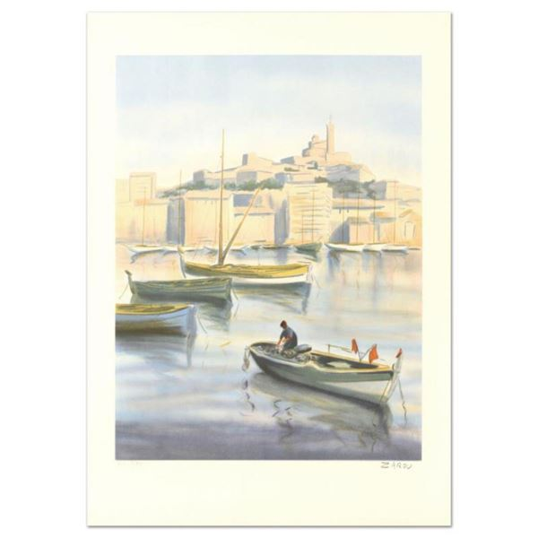 """Victor Zarou, """"Livraison Gratuite"""" Limited Edition Lithograph, Numbered and Hand"""