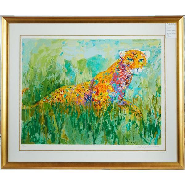 Prowling Leopard by LeRoy Neiman 218/425