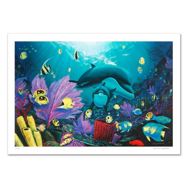 """""""Sea of Light"""" Limited Edition Giclee on Canvas (36"""" x 24"""") by renowned artist W"""