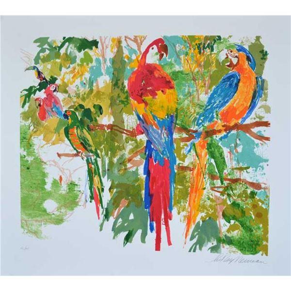 NEIMAN - BIRDS OF PARADISE - SIGNED SERIGRAPH