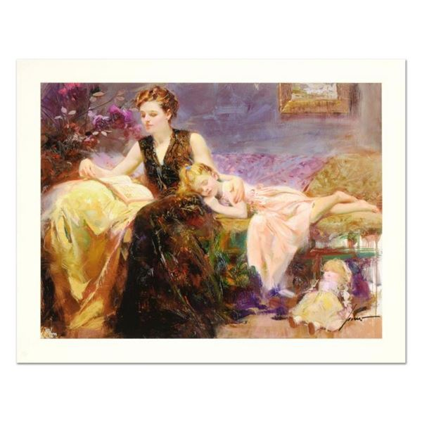 """Pino (1939-2010) """"Precious Moments"""" Limited Edition Giclee. Numbered and Hand Si"""