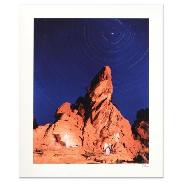 """Robert Sheer, """"Four Angels"""" Limited Edition Single Exposure Photograph, Numbered"""