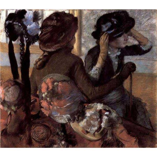 Edgar Degas - The Milliner #1