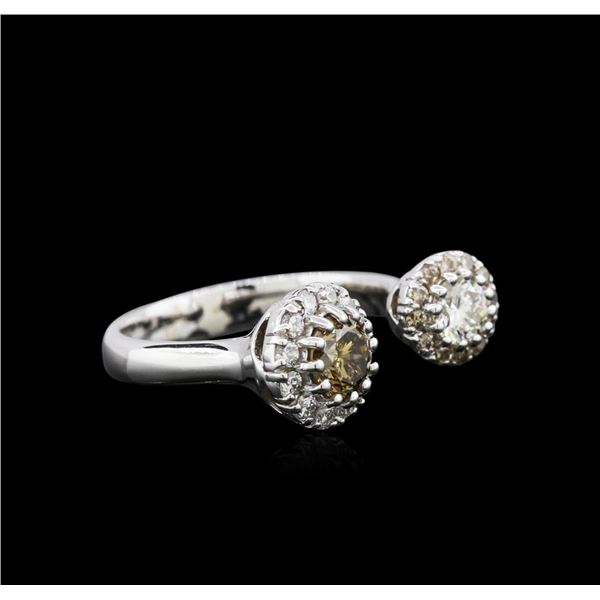 14KT White Gold 1.10 ctw Diamond Ring