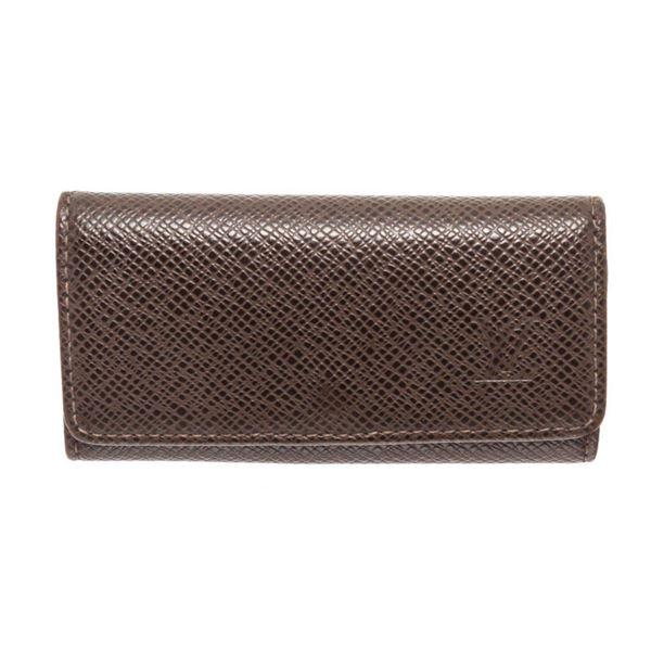 Louis Vuitton Brown 4 key Holder Wallet