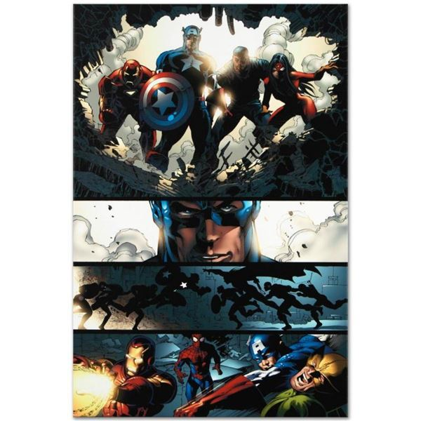 """Marvel Comics """"Amazing Spider-Man #523"""" Numbered Limited Edition Giclee on Canva"""