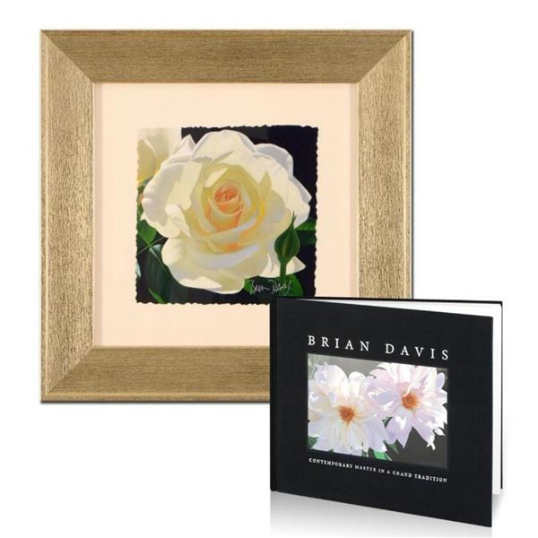 """Brian Davis, """"French Lace with Bud"""", Limited Edition Giclee, Numbered and Hand S"""
