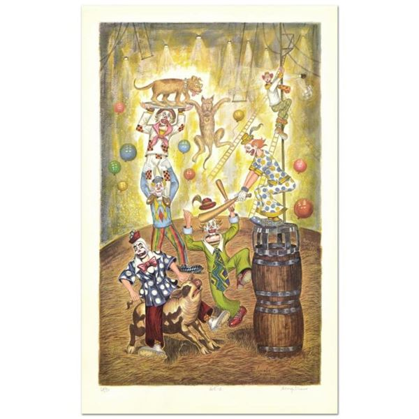 """George Crionas (1925-2004), """"Act II"""" Limited Edition Lithograph, Numbered and Ha"""