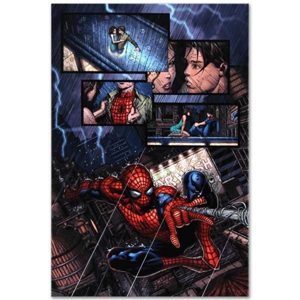 """Marvel Comics """"Ultimatum #1"""" Numbered Limited Edition Giclee on Canvas by David"""