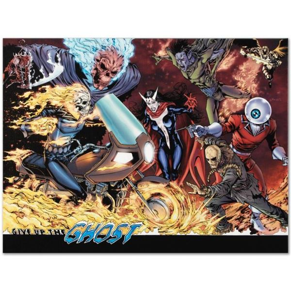 """Marvel Comics """"Avengers #12"""" Numbered Limited Edition Giclee on Canvas by Matthe"""
