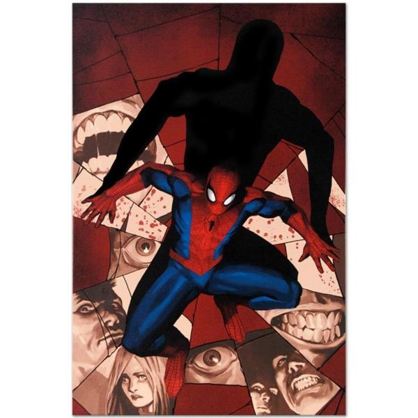 """Marvel Comics """"Fear Itself: Spider-Man #1"""" Numbered Limited Edition Giclee on Ca"""