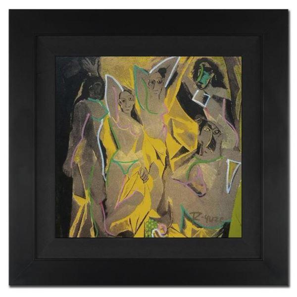 """Les Demoiselles d'Avignon (Picasso Homage) by """"Ringo"""" Daniel Funes"""