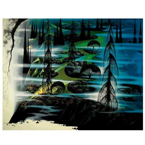 """Eyvind Earle (1916-2000), """"Beauty Beyond Believing"""" Limited Edition Serigraph on"""