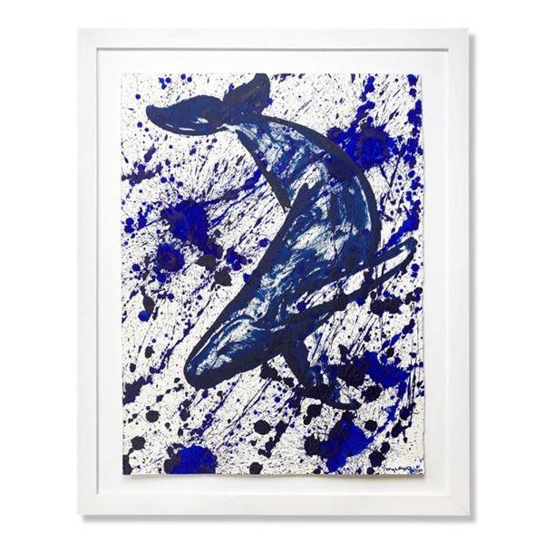 Humpback Splash by Wyland Original