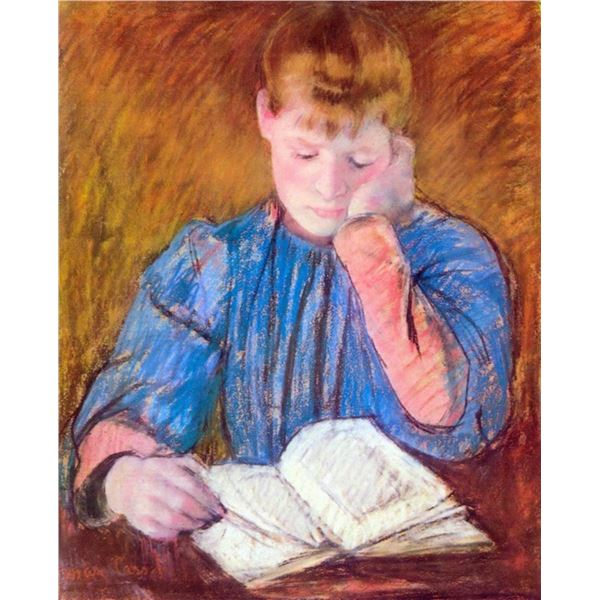 Mary Cassatt - Thoughtful Reader
