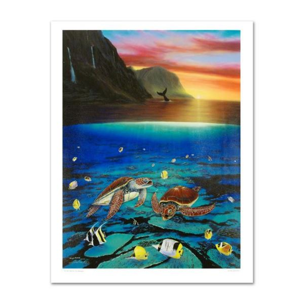 """""""Ancient Mariner"""" Limited Edition Giclee on Canvas (30"""" x 40"""") by Renowned Artis"""