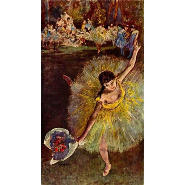Edgar Degas - End Of The Arabesque