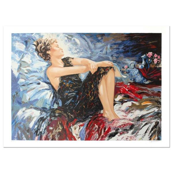 """Sergey Ignatenko, """"Sleeping Beauty"""" Hand Signed Limited Edition Serigraph with L"""