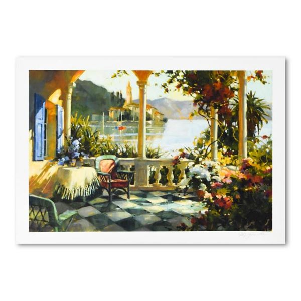 """Marilyn Simandle, """"Morning Tea"""" Limited Edition, Numbered and Hand Signed with L"""