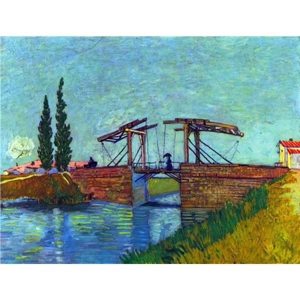 Van Gogh - The Anglois Bridge At Arles (The Drawbridge)
