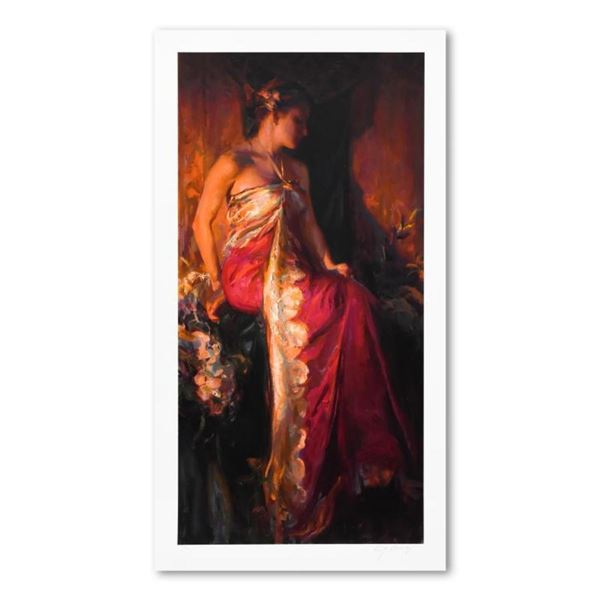 """Dan Gerhartz, """"Nouveau"""" Limited Edition, Numbered and Hand Signed with Letter of"""
