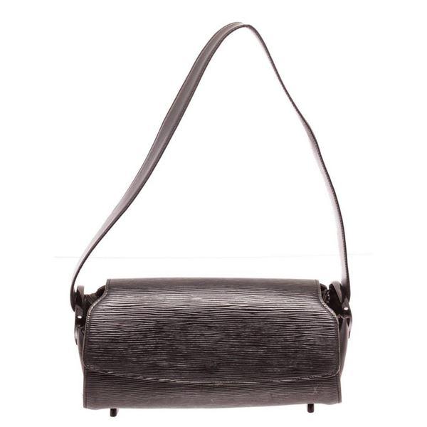 Louis Vuitton Black Epi Leather Nocturne PM Shoulder Bag