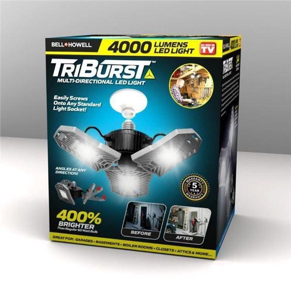 TRI BURST LED GARAGE LIGHT 4000 WATT