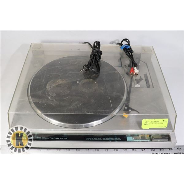 TURN TABLE RECORD PLAYER