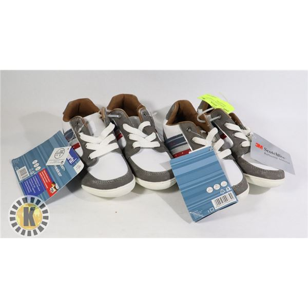 SHOES KIDS US SIZE 32 PAIR OF 2 ASSORTED COLORS