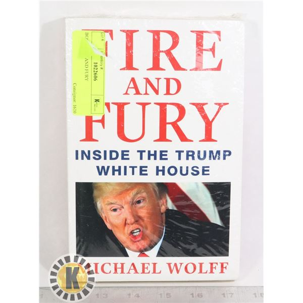 BOOK FIRE AND FURY