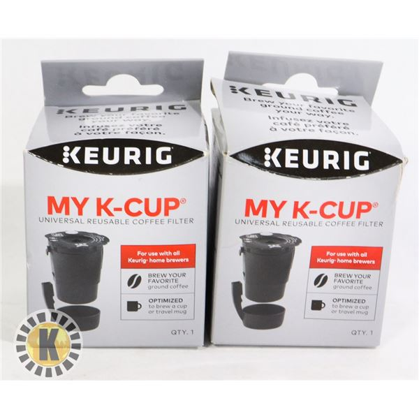 UNIVERSAL REUSABLE COFFEE CUP FILTER