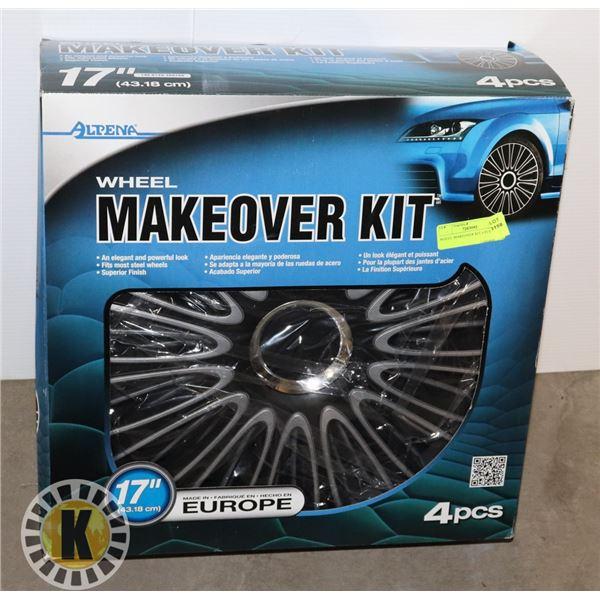 WHEEL MAKEOVER KIT 4 PCS