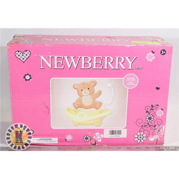 SEARS NEWBERRY BATHTUB TEDDY