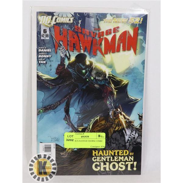 DC COMICS SAVAGE HAWK COMIC BOOK