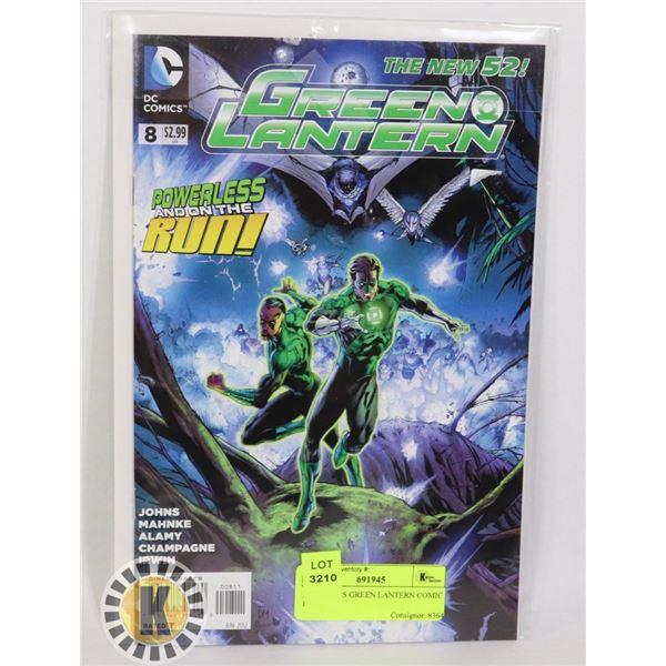 DC COMICS GREEN LANTERN COMIC BOOK