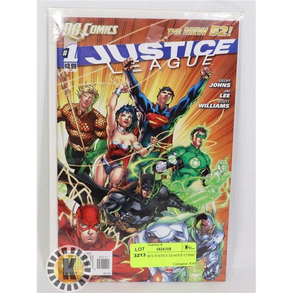 DC COMICS JUSTICE LEAGUE COMIC BOOK