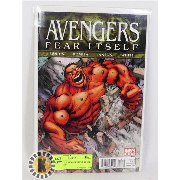 MARVEL 14 AVENGERS FEAR IT SELF COMIC BOOK