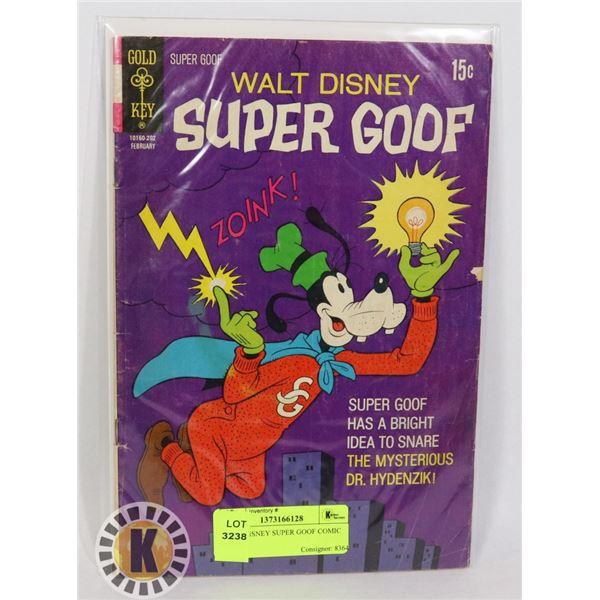 WALT DISNEY SUPER GOOF COMIC BOOK