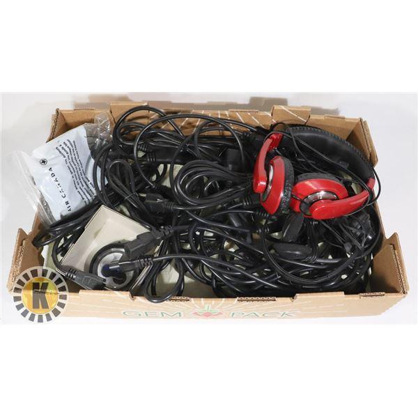 ELECTRONIC CORD AND EARPHONES