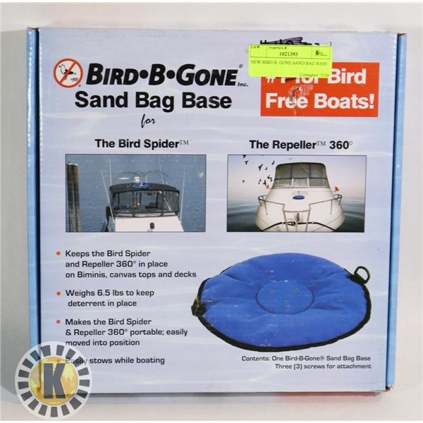 NEW BIRD B. GONE SAND BAG BASE