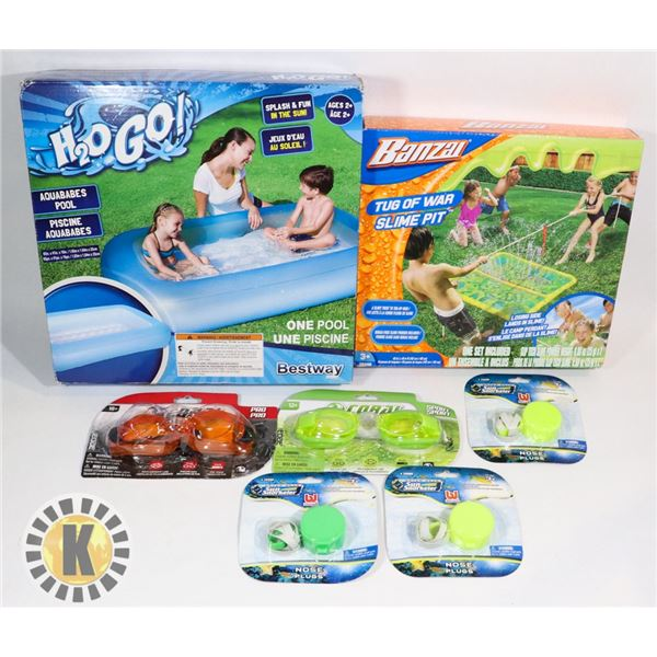 NEW ITEMS TUG OF WAR SLIME PIT