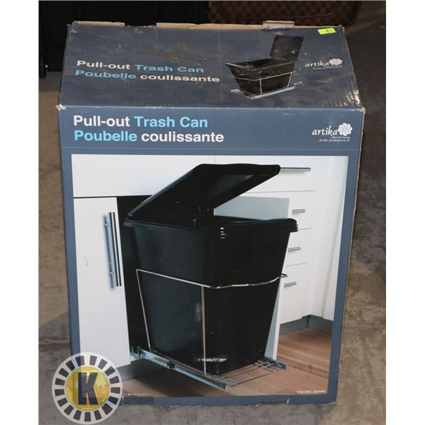 NEW PULL OUT GARBAGE CAN