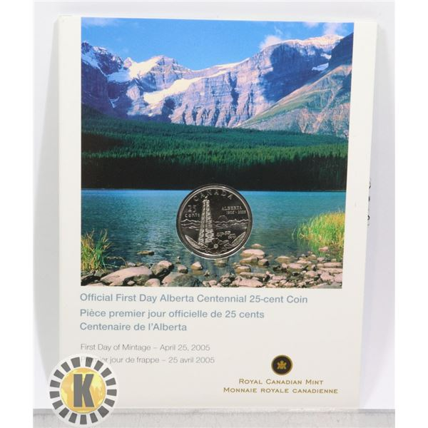 2005 CANADIAN OFFICIAL FIRST DAY ALBERTA