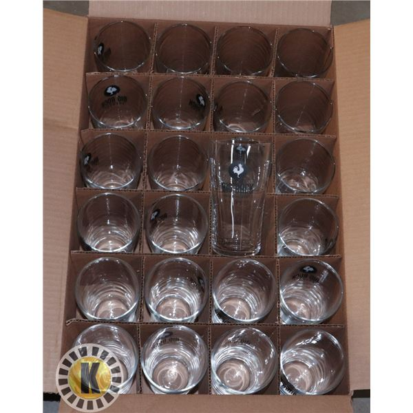 24 UNITS OF BIG ROCK BREW GLASS