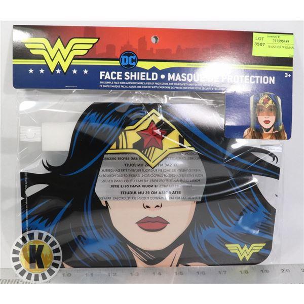 NEW DC WONDER WOMAN FACE SHIELD