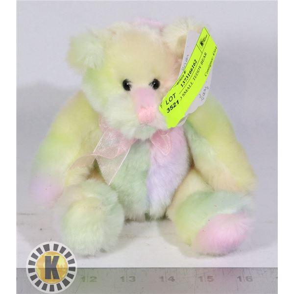 STUFFED SMALL TEDDY BEAR