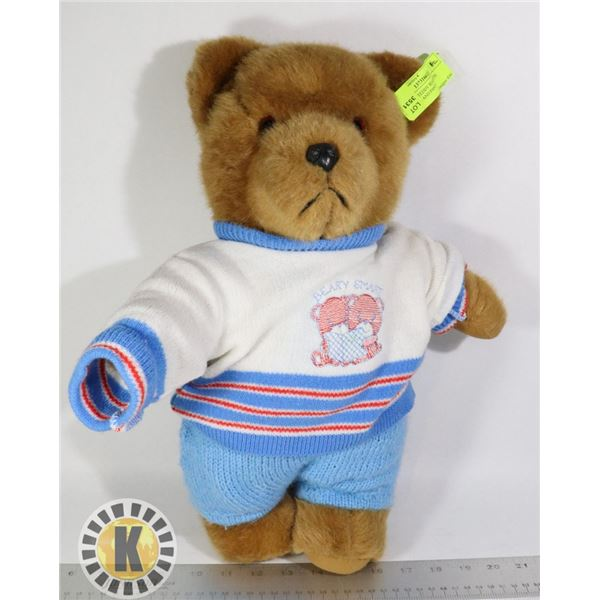 BROWN TEDDY BEAR WITH SWEATER AND PANTS